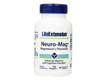 Life Extension Neuro-Mag Magnesium L-Threonate 90 Vegetarian Capsules