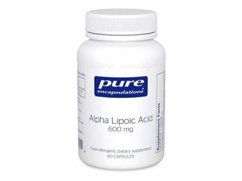 Pure Encapsulations - Alpha Lipoic Acid 600 mg - Hypoallergenic Water- and Lipid-Soluble Antioxidant Supplement - 60 Capsules