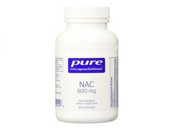 Pure Encapsulations - NAC 600mg 180 Veggie Capsules