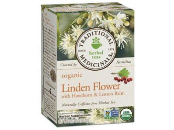 Linden Flower with Hawthorn and Lemon Balm Tea