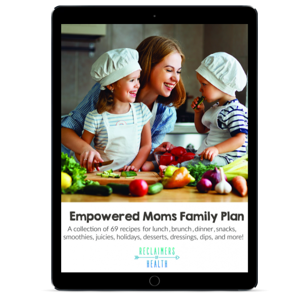 Empowered Moms Family Plan PDF cover