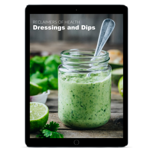 Dressings and Dips on ipad