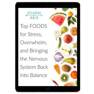Top Foods for Stress PDF