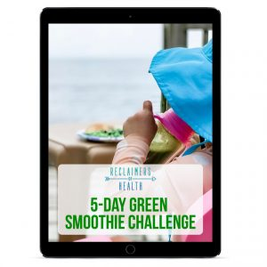 5 Day Green Smoothie Challenge PDF