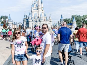 Photo of the Kimberly Spair and family at Disney