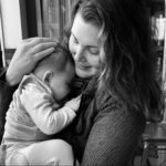 photo of client with baby