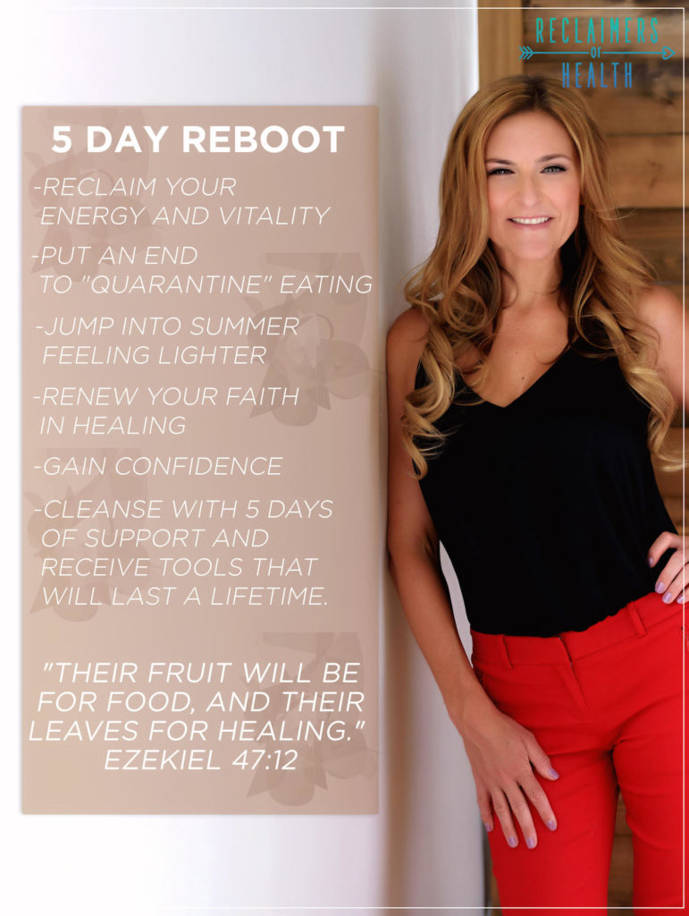 promo image Dr. Kimberly Spair, 5 Day Reboot course