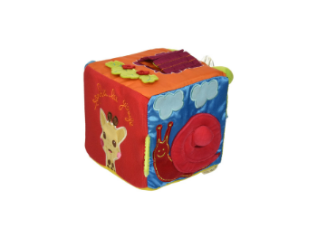 colorful toy baby cube