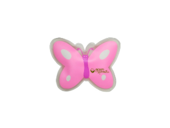 pink butterfly cold compress