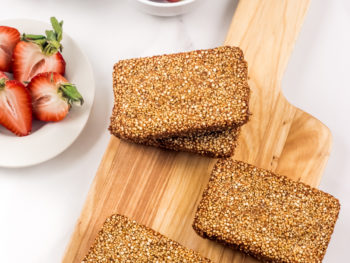 quinoa crunch breakfast bars
