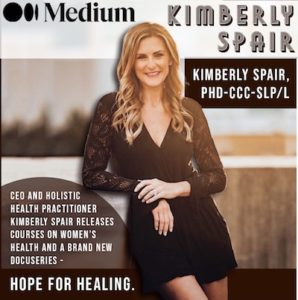photo of Dr. Kimberly Spair cover promoting docuseries