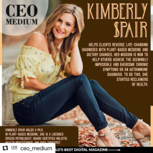 photo of Kimberly Spair feature for CEO Medium